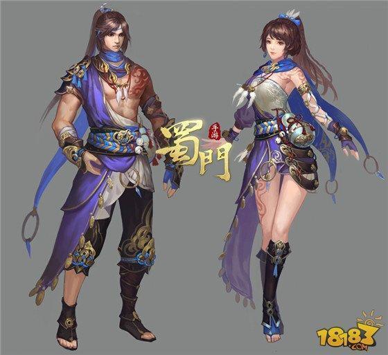 《蜀门手游》时装系统首曝 精美原画亮相