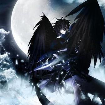 偷星三月和四月图片_天使恶魔翅膀图片