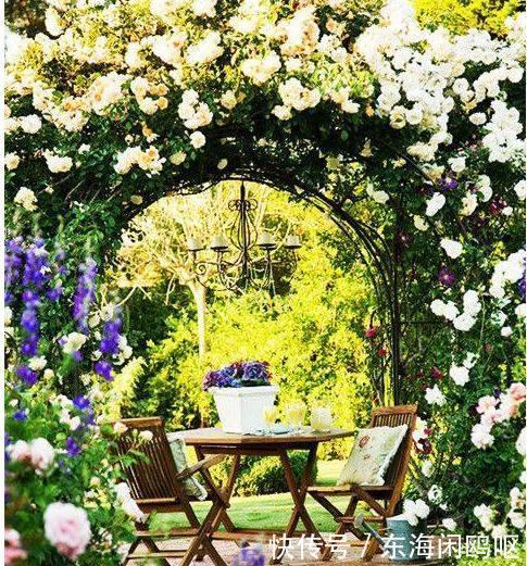 别墅花园设计效果图,私家庭院设计,让生活更接近自然!