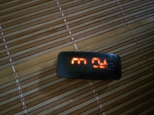 手环电子手表只有一个键怎么调日期?