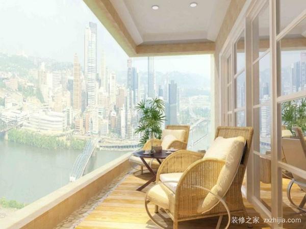 高层住宅阳台装修