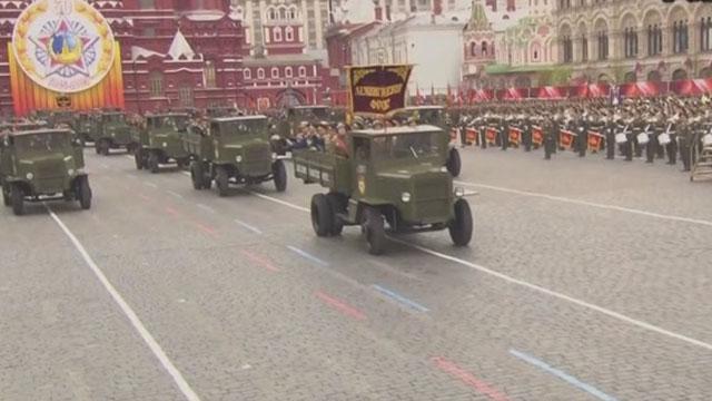 《军情解码》20170510红场阅兵