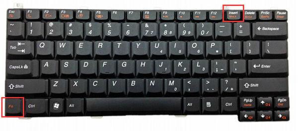聯想v450的筆記本怎么關閉小鍵盤啊?圖片