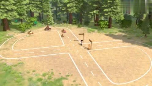 熊熊乐园最新季:吉吉王子开车太着急熊二开出了罚单