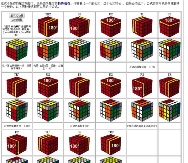 如图,五阶魔方剩下最后一组棱,怎么拼,要公式
