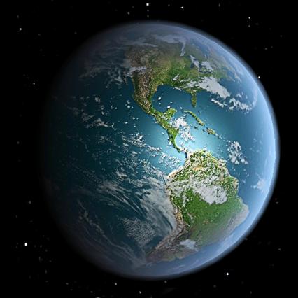 优锁_3D高清地球旋转动态壁纸_360手机助手