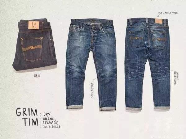 原色未脱浆牛仔裤和洗水牛仔裤的区别是哪些0