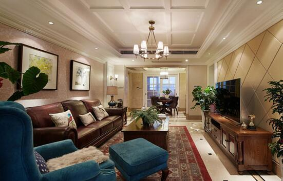 装修搭配:美式家具的做旧工艺和搭配技巧 三联