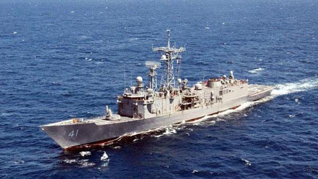 《军情解码》20170517两艘佩里级护卫舰抵台