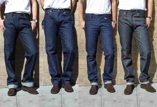 牛仔裤哪些是原色的哪些是水洗的?0