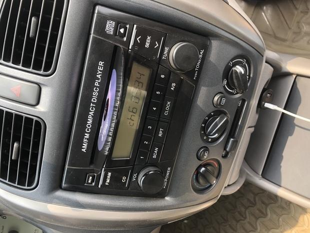 车只能放cd还有收音机里怎么怎么才能用手机放歌