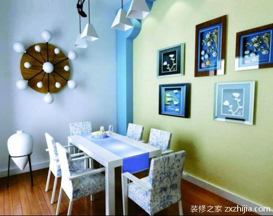 餐厅颜色风水
