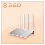 360安全路由P4 全千兆光纤宽带穿墙王无线路由器 智能wifi 1+4千兆网口 双频11AC1200M 企业级