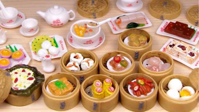 日本食玩_精美粤式点心-饮茶-日本食玩-迷你厨房 149