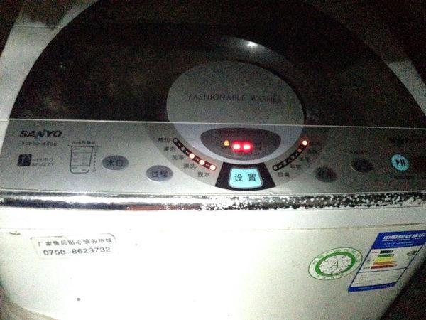 三洋全自动洗衣机XQB60-S808的怎么取消不了也启动不了
